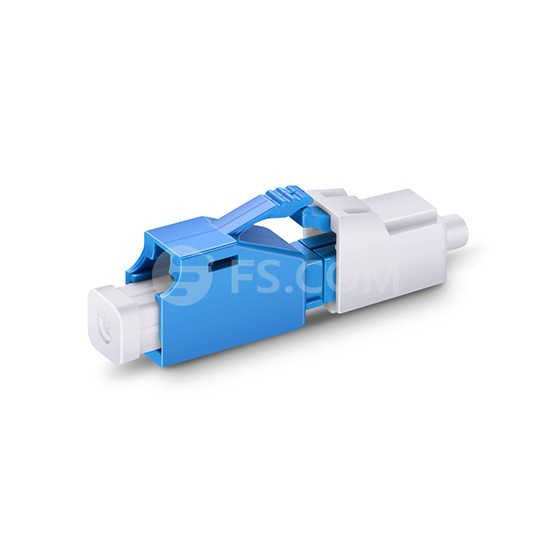 LC/UPC Singlemode Fixed Fiber Optic Attenuator, Male-Female, 4dB